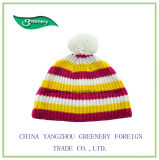 Chapéu bonito do Knit do inverno do estilo do projeto novo