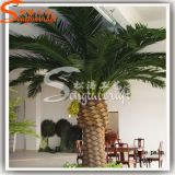 Decoração de jardim Palmeira artificial Árvore de plantas decorativas