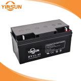 UPSのためのYinsun 12V65ah AGMのLead-Acid電池