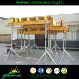 Bois de pin poutre de bois de couleur jaune H20