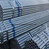 Galvanizado en caliente tubo redondo de acero para la construcción
