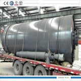 City Waste Recycle Machinery Gasify to Oil 12tpd