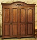 Guardaroba con i portelli di legno solido (YBW-4)