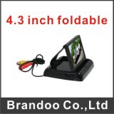 4.3 Pouces Type pliable Car LCD Monitor