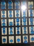 보석 조정을%s 스위스 파란 황옥 원석