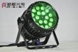 Bewegliches lautes Summen LED NENNWERT Licht der LED-Stadiums-Beleuchtung-18X10W RGBW 4in1