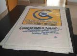 50kgセメントのパッキング袋のための建築材料のパッキングPPによって編まれる袋