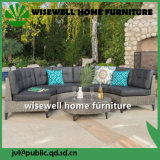 Do sofá ao ar livre de vime do pátio do Rattan do PE mobília secional ajustada (WXH-023)