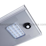 15W calle solar LED integrado Lgihting con la garantía 3years