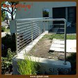 Конструкция Railing кабеля балкона нержавеющей стали экстерьера 316 стальная (SJ-H1830)