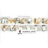 Gewölbtes Papier-Bildschirmanzeige, Förderung-Pappausstellungsstand