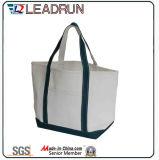 Sacchetto di acquisto non tessuto del sacchetto di mano della tela di canapa del cotone del sacchetto di acquisto dello zaino (X022)
