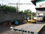 Electronic 40 Ton Portable Weighbridge 3 * 18m Weight Truck Scale