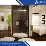 vidrio endurecido Tempered/plano de 3-19m m para la puerta de la ducha