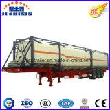 40ft/20ft Contenedor de depósito de aceite ISO 40ft/20ft/químicos líquidos contenedores tanque de combustible