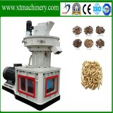 Reciclagem de madeira, palha, pedreiro, granulado, granulado, máquina, biomassa