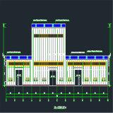 Costruzione chiara dell'ospedale della struttura d'acciaio con il migliore disegno