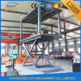 Hydraulic Double Platform Scissor Car Car Lift with Ce
