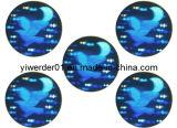 El holograma 2D/3D adhesivo logotipo personalizado para el embalaje (H-021)