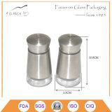 Contenitore del sale & della spezia con il coperchio e la protezione dell'acciaio inossidabile