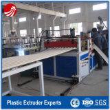 Feuilles ondulées de toiture de PVC de plastique faisant la machine
