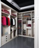قرطاجة [أو] أسلوب حجرة إيداع أبيض خشب [بفك] غرفة نوم خزانة ثوب ([ك01-04])