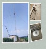 Оцинкованный Guyed провод антенны Телекоммуникационная башня
