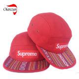 カスタム花の5つのパネルの最高の帽子