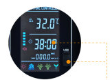 Lcd-Infrarotsauna-Thermostat-Controller mit USB-Kanal für MP3