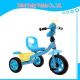 Haltbarer Baby-Kind-Dreiradpram-im Freiensonnenschutz-Stoss-Fahrspielzeug-Fahrrad