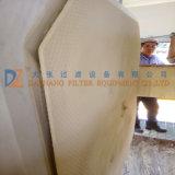 Tratamiento de Aguas Residuales de la membrana de la cámara de filtro prensa hidráulica para la deshidratación de lodos
