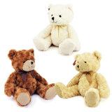 Het in het groot Stuk speelgoed van de Teddybeer van de Sweater van de Streep van de Pluche Blauwe voor Verkoop Yangzhou