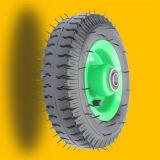 Roda pneumática de aço ou plástica da borda 2ply