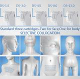 Levantamento de face de Hifu de 5 cartuchos e Slimming do corpo de Hifu