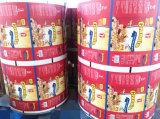 Filme de embalagem de alimentos plásticos com impressão de gravura vívida