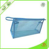 Cheap PVC transparent sac sacs à fermeture à glissière cadeau promotionnel