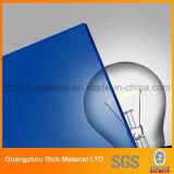 Farbe warf Plastik-PMMA Plexiglas-Blatt des Acrylblatt-für Drucken
