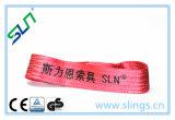 2018 100% polyester 5t élingue sangle haute résistance