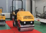 1.8 Tonnen-hydraulisches Schwingung-Doppelt-Trommel-Schmutz-Verdichtungsgerät