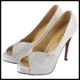 De sexy Hoge Schoenen van de Partij van de Diamant van de Vrouwen van de Hiel