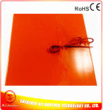 110V 1000W 550*550*1.5mm Silikon-Gummi-Heizung für Drucker 3D