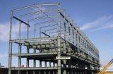 Edificio prefabricado de la planta de fábrica de la estructura de acero