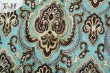 Tela de tapicería clásica azul del Chenille del diseño (fth31809)