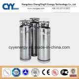 Nuovi Industrial e Medical Cryogenic LNG Liquid Oxygen Nitrogen Argon Insulation Dewar Cylinder