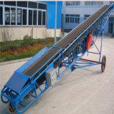 Correia transportadora de borracha para tratamento de minerais de longa distância