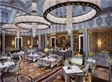 Het Dineren van het Hotel van Guangzhou het Stof Beklede Meubilair van de Stoel (fohcf-0077)