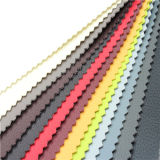 Popular sintética artificial de PVC imitación de cuero para sofá Rein
