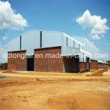 Grue atelier de l'intérieur de la lumière de l'acier de construction de châssis