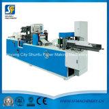 Máquina que graba de papel de la sola servilleta por encargo del color