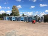 熱い販売ライト鉄骨構造のプレハブの倉庫か研修会